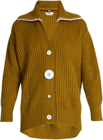 Edun Oversized button-down wool cardigan