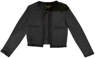Jill Stuart Black Cotton Jacket for Women