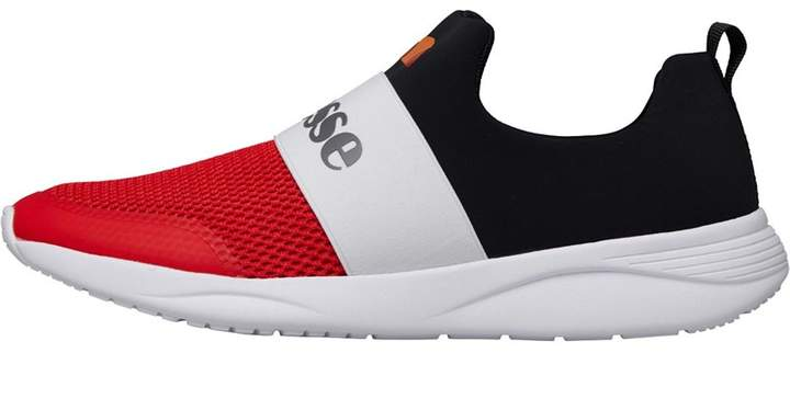 b98439dd49 Mens Jamy Trainers Black/White/Red