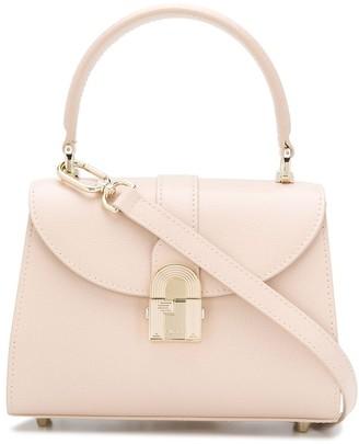Furla Hand-Held Mini Leather Foldover Bag