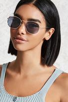 Forever 21 Square High-Polish Sunglasses