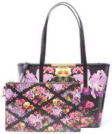 Ted Baker Women's Doloris Lost Gardens Small Leather Shopper Bag - Black