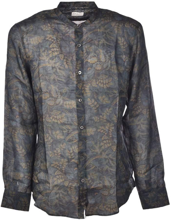 Dries Van Noten Leaf Printed Shirt