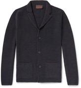 Altea Mouline Virgin Wool-Blend Cardigan