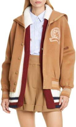 Tommy Hilfiger Crest Wool Varsity Jacket