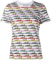 Mary Katrantzou 'Iven' leopard print t-shirt - women - Cotton/Spandex/Elastane - S