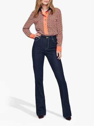 Damsel in a Dress Mea High Waisted Jeans, Blue