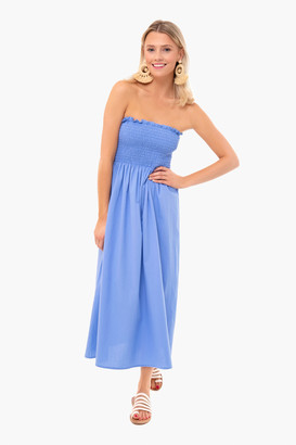 Americana Blue Strapless Jessie Dress