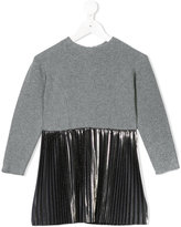 Opililai metallic skirt dress