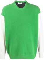 Givenchy logo-jacquard jumper