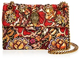 Kurt Geiger Mini Kensington Brocade Crossbody Bag
