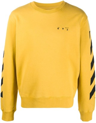 Off-White Arrows motif print sweatshirt