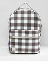 Jack Wills Check Print Backpack