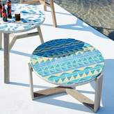 west elm Mosaic Tiled Coffee Table - Multi Triangle