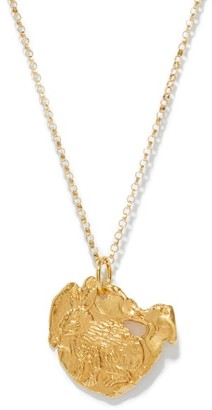 Alighieri The Rabbit 24kt Gold-plated Necklace - Yellow Gold