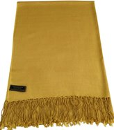 CJ Apparel Solid Color Design Nepalese Shawl Pashmina Scarf Wrap Seconds NEW
