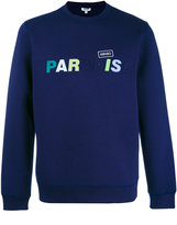 Kenzo Paradise slogan sweatshirt - men - Cotton/Polyester/Spandex/Elastane/Viscose - M