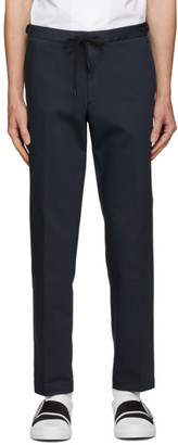 HUGO BOSS Navy Banks Trousers