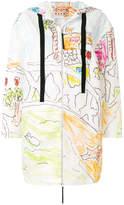Marni Magdalena Suarez printed raincoat