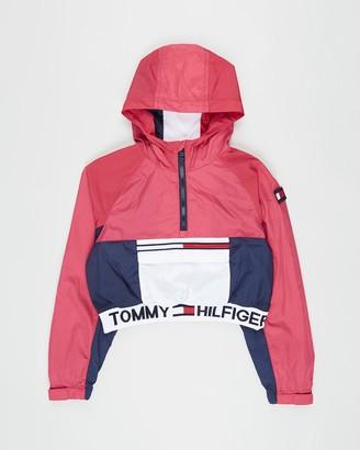 Tommy Hilfiger Popover Cropped Fit Jacket - Teens