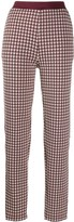 Rag & Bone houndstooth print trousers