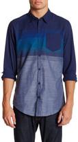 Burnside Variegated Stripe Long Sleeve Shirt