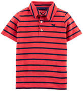 CARTERS Carter's Boys Collar Neck Short Sleeve Graphic T-Shirt-Toddler
