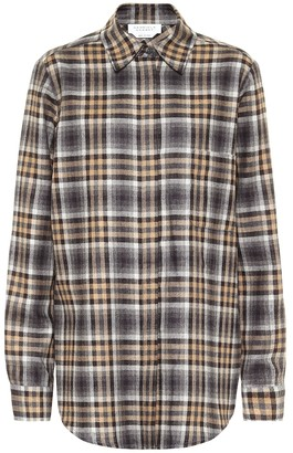 Gabriela Hearst Macello wool, silk and cashmere shirt