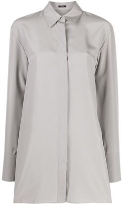 Joseph Silk Long-Sleeve Shirt