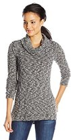 Splendid Women's Lake Front Cowl Neck Tunic Sweater