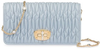 Miu Miu Matelassé mini crossbody bag