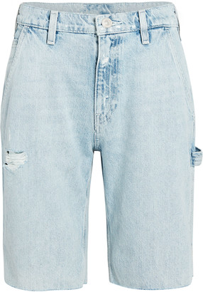 Hudson Carpenter Knee-Length Denim Shorts