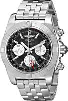 Breitling Men's AB042011-BB56 Analog Display Swiss Automatic Silver Watch