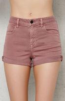 PacSun Tulip Super Stretch Denim Shorts