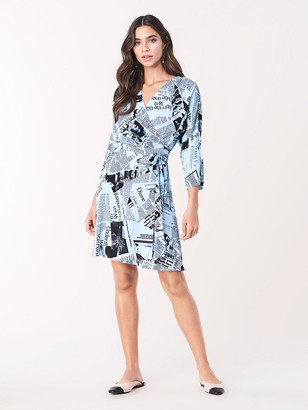 Diane von Furstenberg Sheena Crepe Wrap Dress