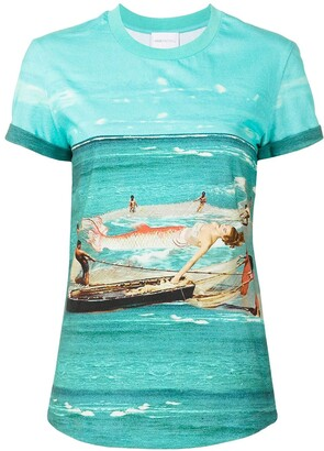 Alice McCall Big Catch cotton T-shirt