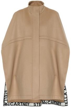 Stella McCartney Caban wool cape
