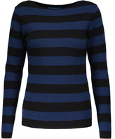 MiH Jeans Drew Breton striped merino wool sweater