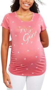 Motherhood Maternity Hey Girl Graphic Tee