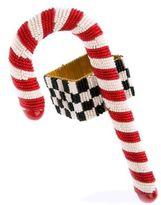 Mackenzie Childs MacKenzie-Childs Candy Cane Beaded Napkin Ring