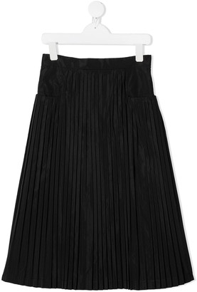 Simonetta High-Rise Pleated Skirt