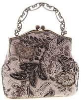 ilishop Women's Vintage Clutch Handbag Flower Beaded Evening Tote Bag