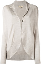 Fay hook fastening cardigan - women - Silk/Wool - M