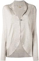 Fay hook fastening cardigan - women - Wool/Silk - L