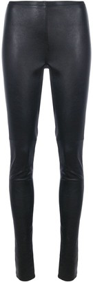 Vanderwilt Skinny Leather Trousers