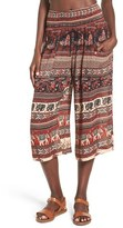 Band of Gypsies Print Culottes