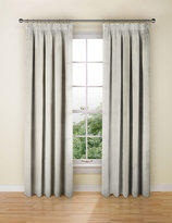 Marks and Spencer Stripe Pencil Pleat Curtain