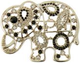 Accessorize Embellished Elephant Brooch