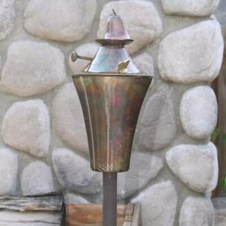 Starlite Garden and Patio Torche Co. Kona Garden Torch Starlite Garden and Patio Torche Co. Finish: Copper Burn