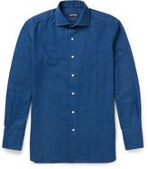 Tom Ford - Slim-fit Cutaway-collar Cotton Shirt